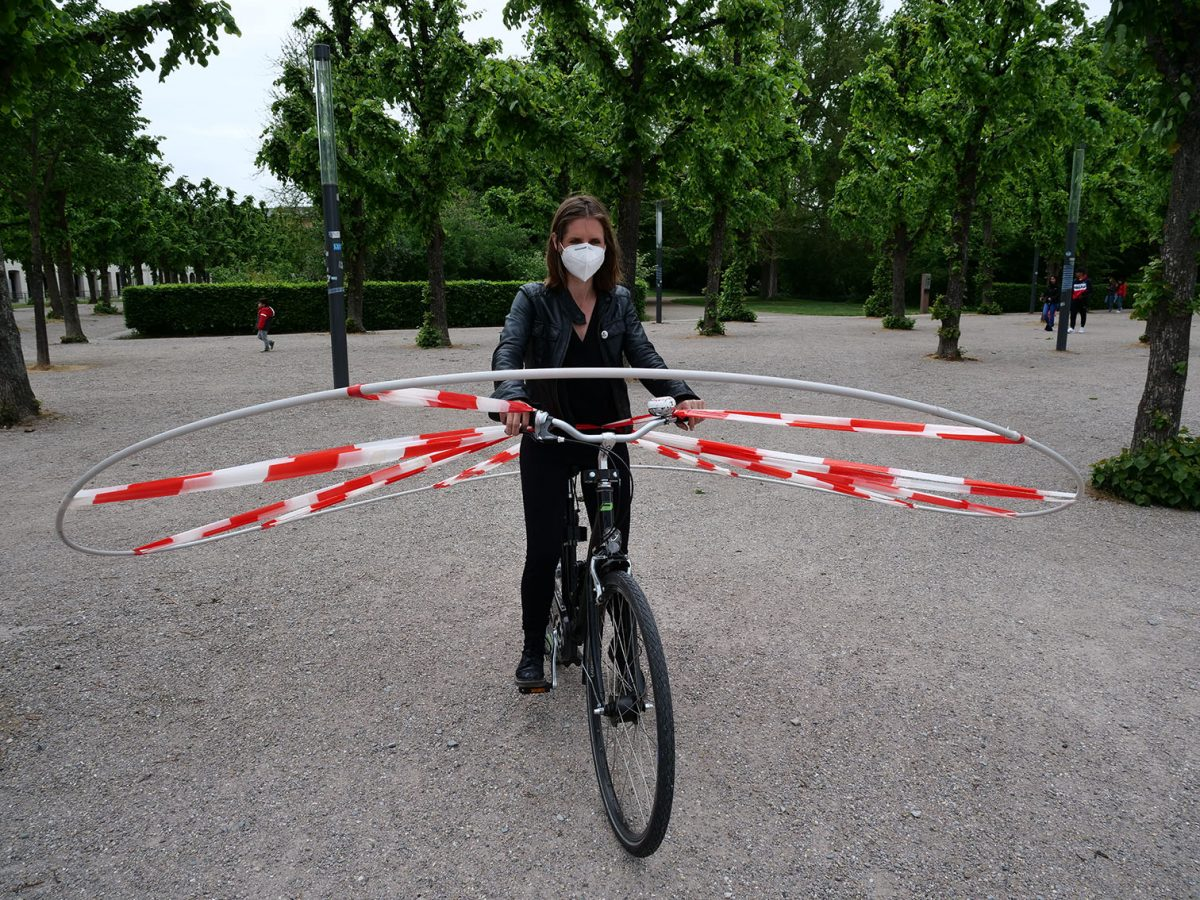 Einsfünfzig Abstand Fahrrad